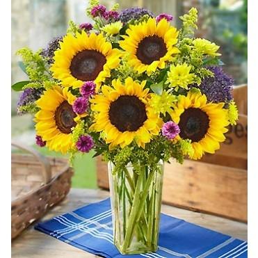 Ray's Of Sunshine Floral Arrangement