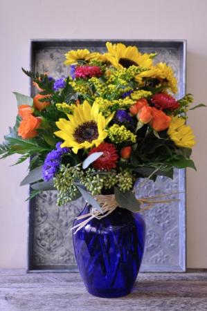 Rays of Sunshine  Vase Arrangement