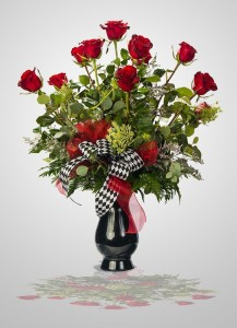 """Ready For Romance""       BBS5 Signature Red Roses in Roswell, NM 