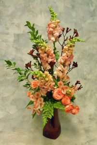Ready for Romance  Elegant Arrangement in Vase