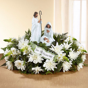 Reason for the Season Centerpiece  in Hermitage, TN | IN FULL BLOOM FLOWERS + GIFTS