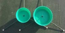 Rebar Stand  w/ Water Bowl
