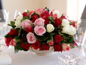 Reception Arrangement   in Oakville, ON | ANN'S FLOWER BOUTIQUE-Wedding & Event Florist