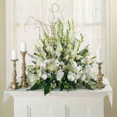 RECEPTION FLOWER ARRANGEMENT WEDDING