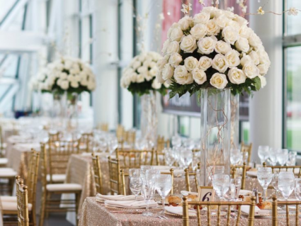 Reception Flower Center Pieces