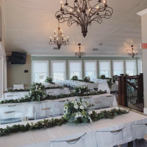 Reception Garland & Centerpieces