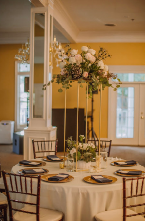 Reception Table Centerpiece  Wedding