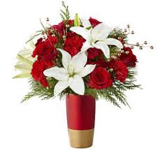 Red and Gold Christmas vase(limited quantity) Christmas