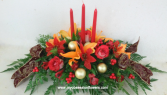Red and light Centerpiece