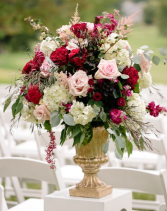 Red and Pink Urn Sympathy