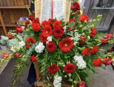 Red and White Bible Piece