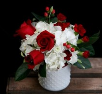 Red and White Delight Custom Arrangement