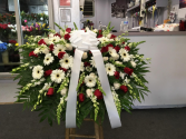RED AND WHITE MIX Casket