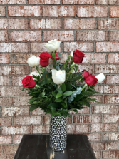 Red and White Mixed Dozen
