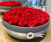Red At Best Preserved Rose Bouquet Preserved Roses