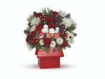 Red Baron Christmas Cookie Jar Christmas Arrangement