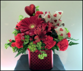 Red Bliss Arrangement