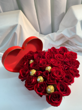 Red Box Red Roses  Valentine's Day Gift