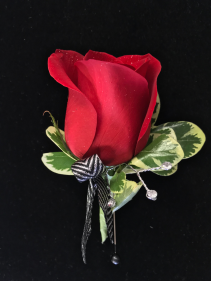 Red Carpet Ready  Prom Boutonniere