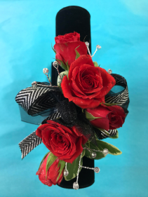 Red Carpet Ready Prom Corsage