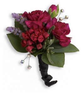 Red Carpet Romance Boutonniere HPR051A