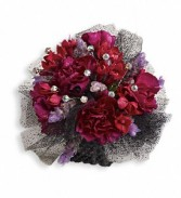 Red Carpet Romance Prom Corsage