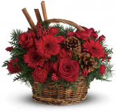 Red Cinnamon Basket