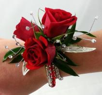 Red Diamond Wristlet