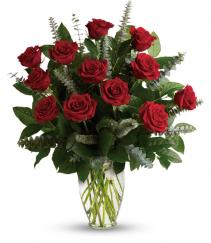 Red Eternal Love Rose Arrangement