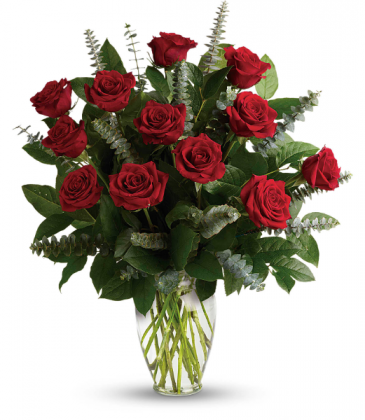 Red Eternal Love Rose Arrangement
