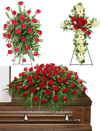 LOVING 3-Piece Funeral Package SPECIAL!! PAY FOR 2 ITEMS AND GET THE 3RD PC FREE