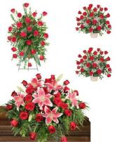 Red Funeral Funeral Package 1