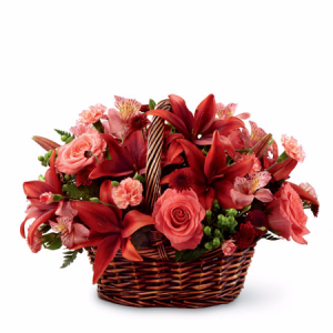 Red Hot! Arrangement in Winston Salem, NC | RAE'S NORTH POINT FLORIST INC.