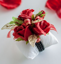 Red Hot Corsage