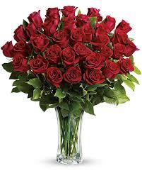 Red Hot Love Rose Arrangement in Longview, TX | HAMILL'S FLORIST