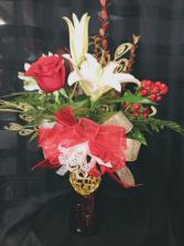Red Hot Love Valentines Arrangement