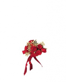 Red-Hot Roses Wristlet
