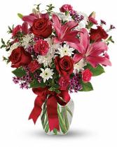 Red Hot Vase