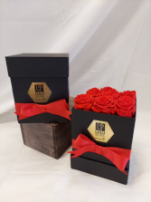 Red Infinity Roses