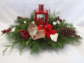Red Lantern Christmas