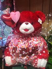 RED LOVE BEAR