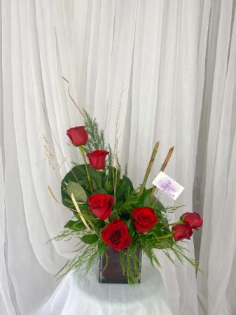 5-RED LOVE VALENTINE'S