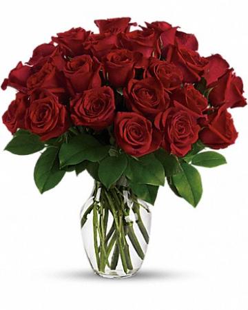 Red Passion Arrangements  vases