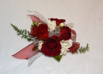RED PASSION CORSAGE IN STORE PICK UP ONLY WRIST CORSAGE