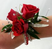 Red Passion Corsages