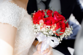 Red Passion Wedding Bouquet