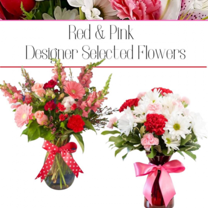 Red & Pink-Designer's Choice