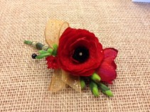 Red Ranunculus Bout