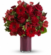 Red Rapture Floral Bouquet
