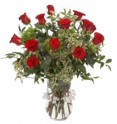 Red Rapture Roses Bouquet